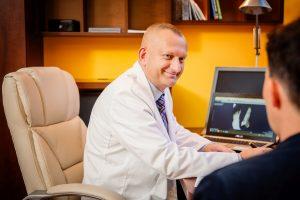 Konsultacja specjalisty w dziedzinie fizjoterapii Marka Sewastianika